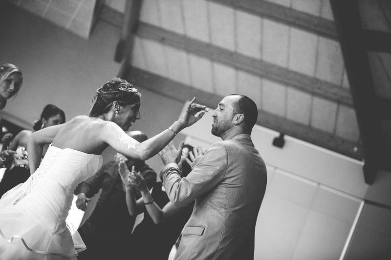 soirée dansant vu sous un angle original par le photographe