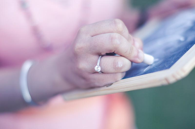 photography of the engagement ring