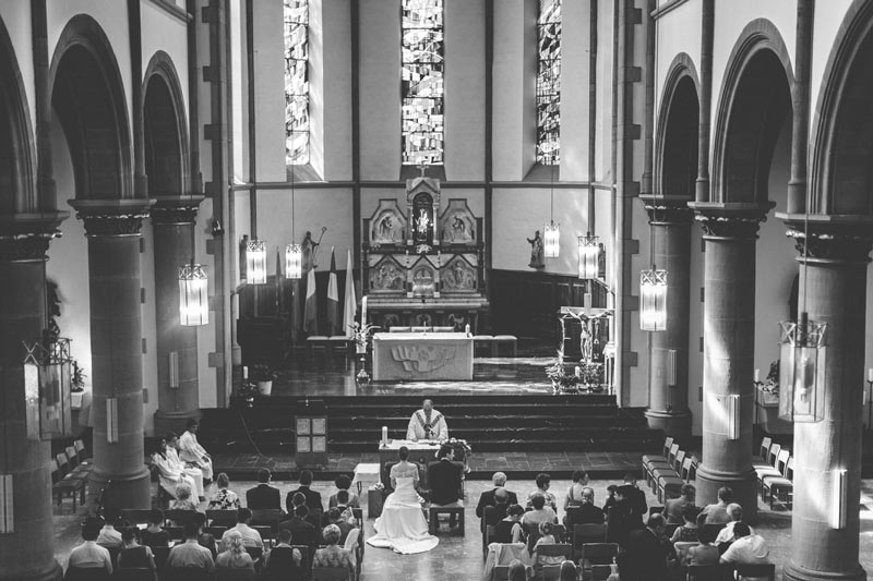 fantastic photo of bettembourg church during a wedding
