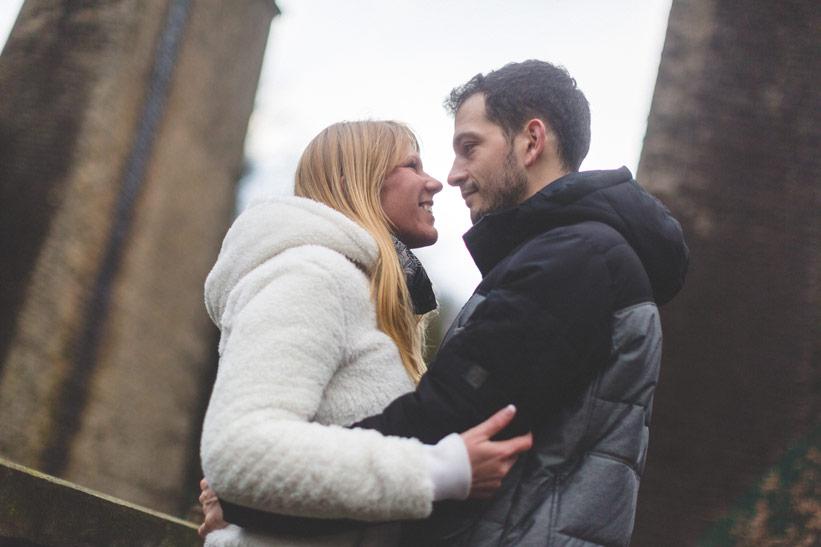 couple amoureux sous le regard du photographe