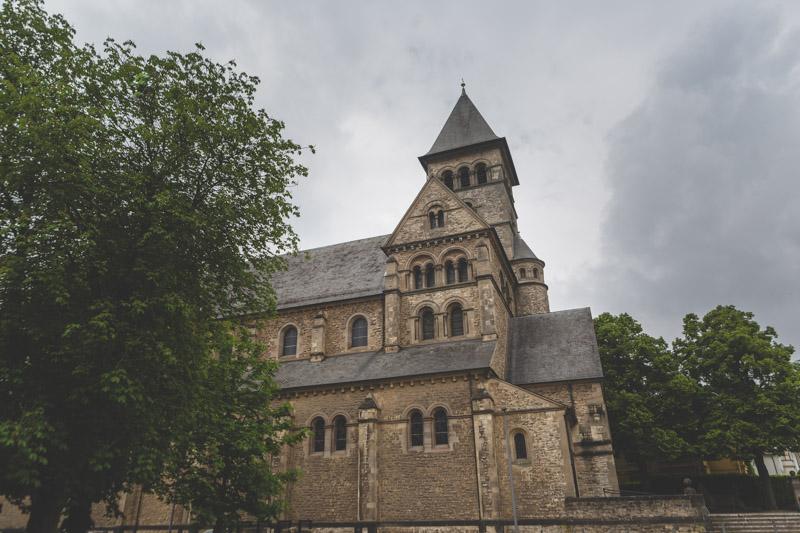 l'église saint-joseph du limpersberg au luxembourg