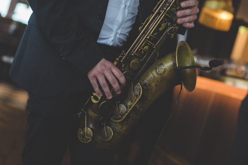saxophoniste de mariage