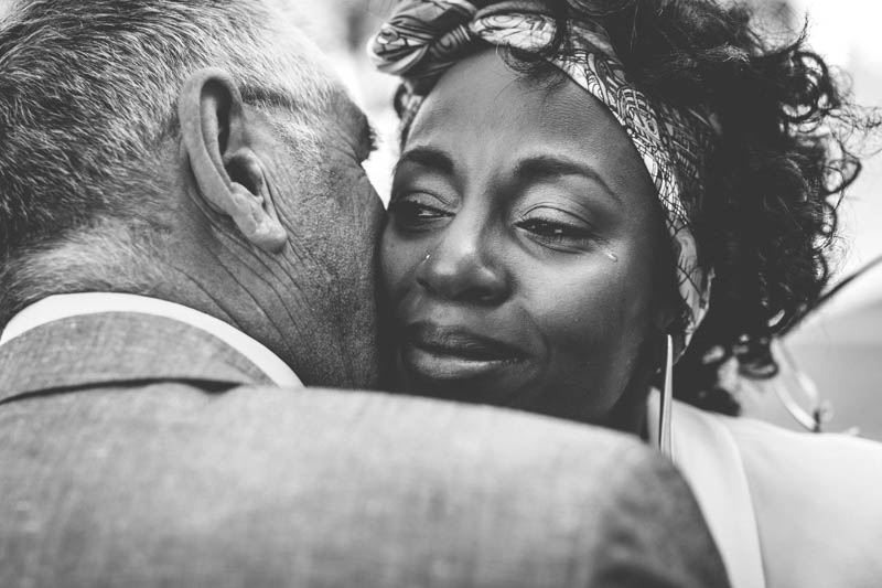 16 bride with tear
