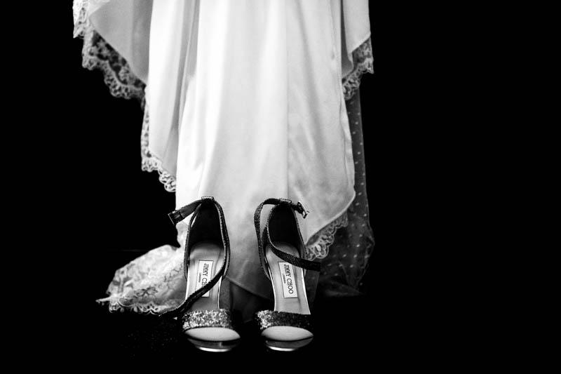 10 la robe de la mariée et ses chaussures