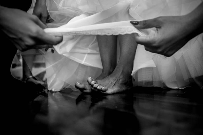 14 la mariée aux pieds nus
