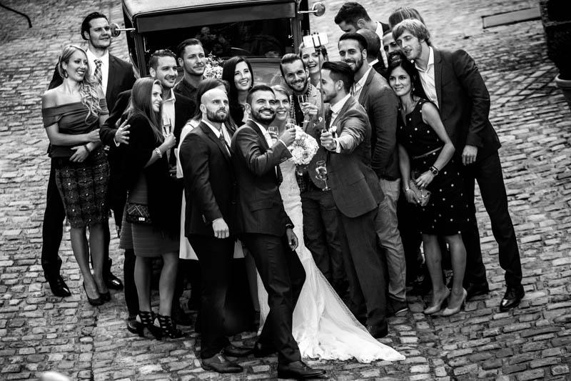 41 photo de groupe en mode selfie