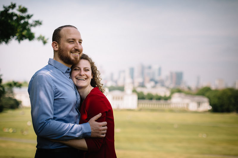 engagement in greenwich park