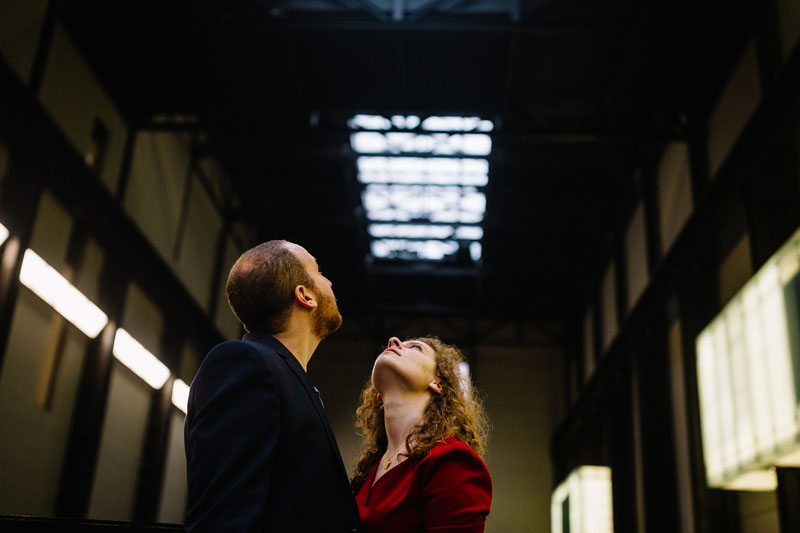 couple at the Tate museum in London