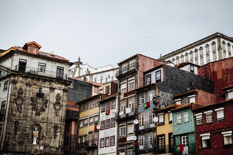 typical Porto architecture