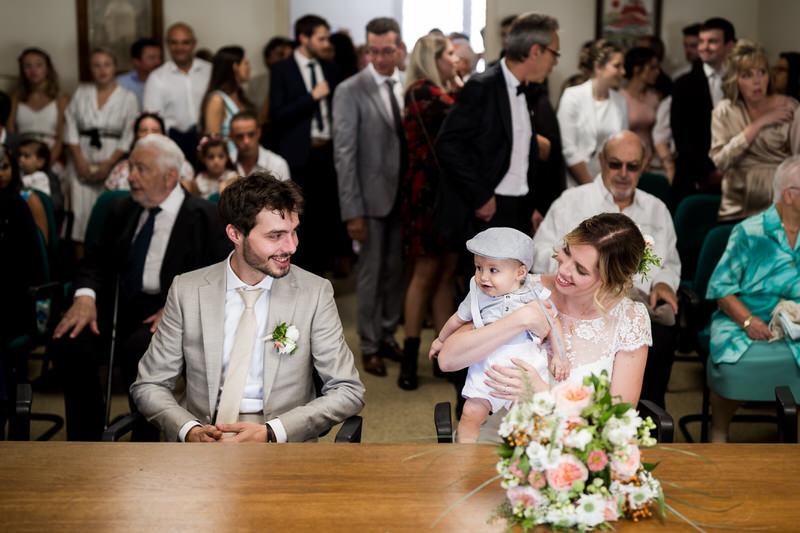 cérémonie civile à la mairie de Seraincourt