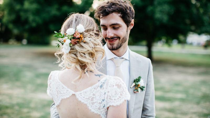 photographie de mariage dans les Yvelines