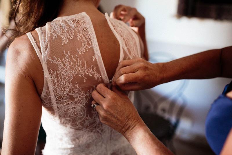 30 fermeture de la robe